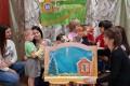 Волонтёрский отряд Ростовского педагогического колледжа «Формула добра» — театрализованное представление «Колобок»