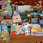 Подарки для воспитанников центра от сотрудников филиала ПАО «МРСК Центра» — «Ярэнерго»